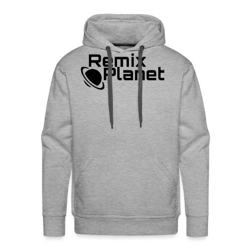 RemixPlanet Black Logo - Men's Premium Hoodie