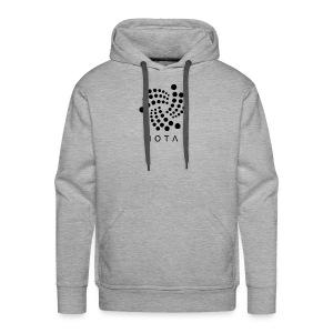 iota logo - Men's Premium Hoodie