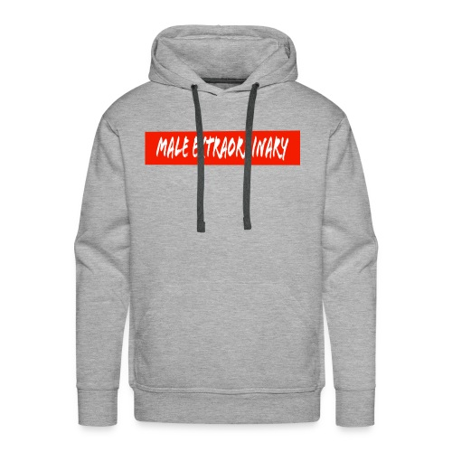 Male Extraordinary Supreme Logo - Men's Premium Hoodie