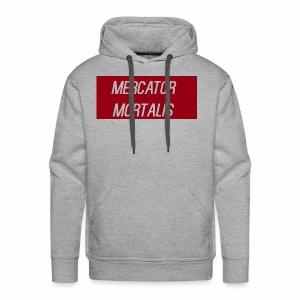 Blood Red Basic - Men's Premium Hoodie