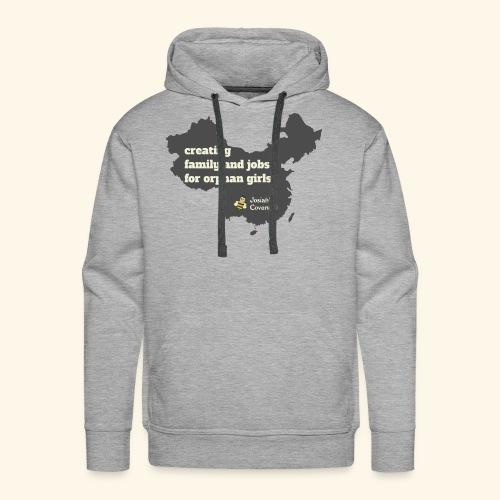 Josiah's Covenant - map - Men's Premium Hoodie