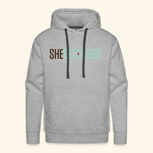 She Recovers - Men's Premium Hoodie