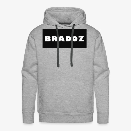 BRADOZ SHIRT LOGO - Men's Premium Hoodie