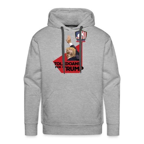 College Republicans UT- Toledoans for Trump - Men's Premium Hoodie