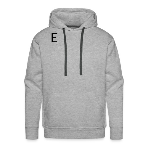 870894090 074102 rounded glossy black icon alphanu - Men's Premium Hoodie