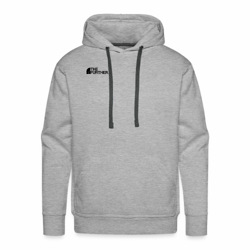 THE FURTHER FACE (BLACK LOGO) - Men's Premium Hoodie