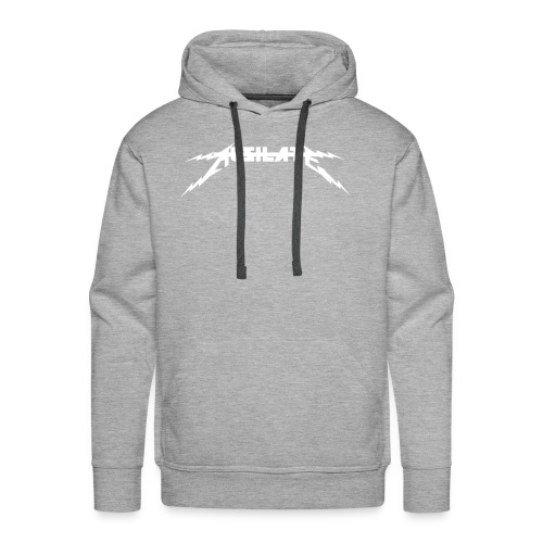 Ausilate Lightning Collection *White* - Men's Premium Hoodie