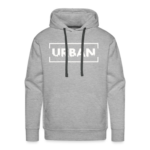 Urban City Wht - Men's Premium Hoodie