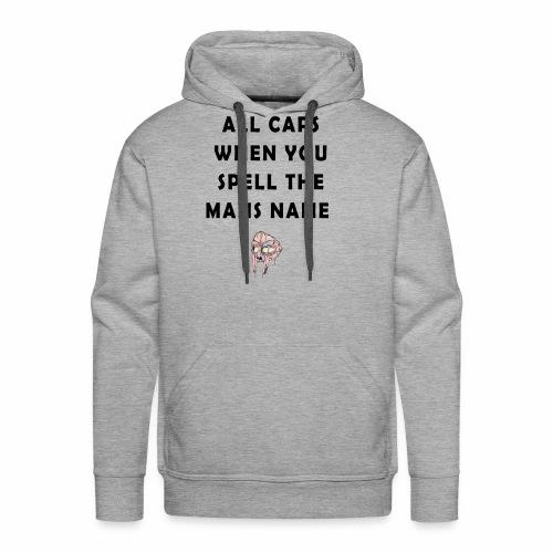 MFDOOM ALL CAPS - Men's Premium Hoodie