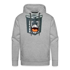 Trash Mouth Large Logo - Men's Premium Hoodie