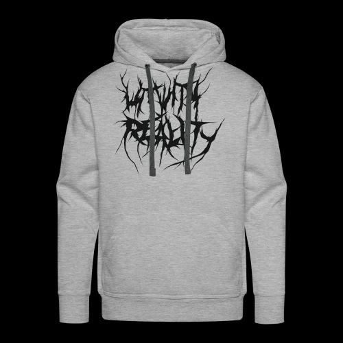 Hit With Reality Logo - Men's Premium Hoodie