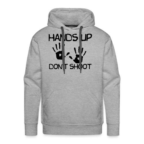 hands up dont shoot michael brown - Men's Premium Hoodie