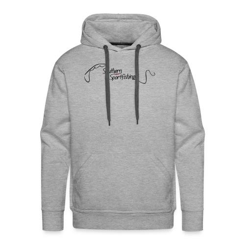 Southern Sportfishing - Black Logo - Men's Premium Hoodie