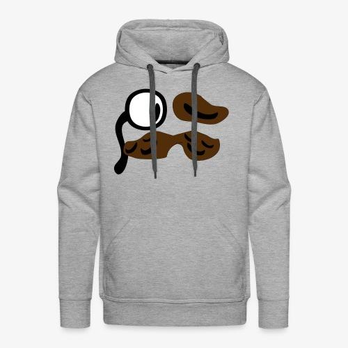 mustachio - Men's Premium Hoodie