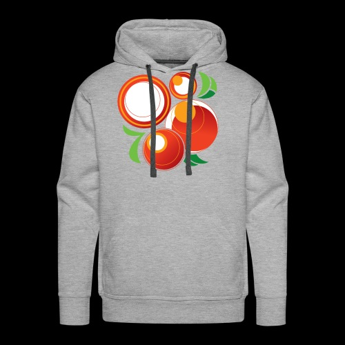 Abstract Oranges - Men's Premium Hoodie