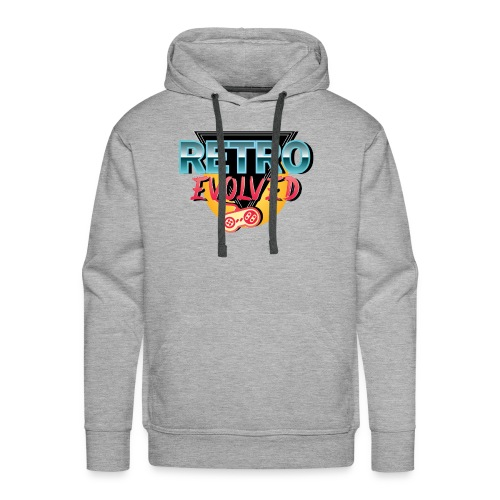 Retro Evolved - Men's Premium Hoodie