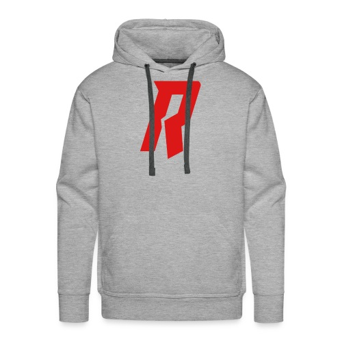 Requiem R Red - Men's Premium Hoodie