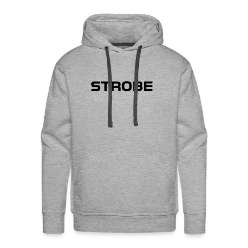 Strobe Black - Men's Premium Hoodie