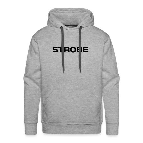 Strobe Logo - Men's Premium Hoodie