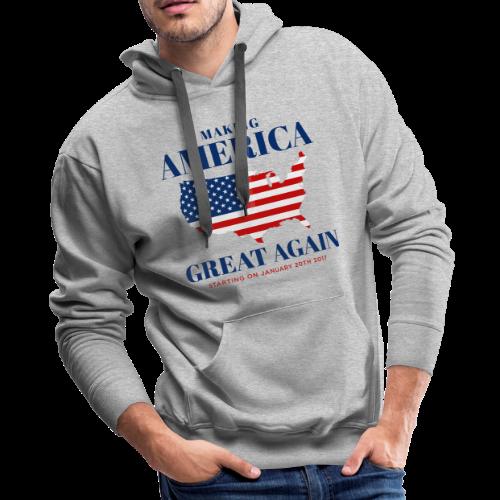Making America Great Again - Men's Premium Hoodie