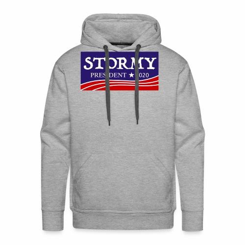 stormy for president 2020 - Men's Premium Hoodie