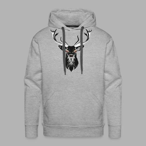 Evil Stag - Men's Premium Hoodie