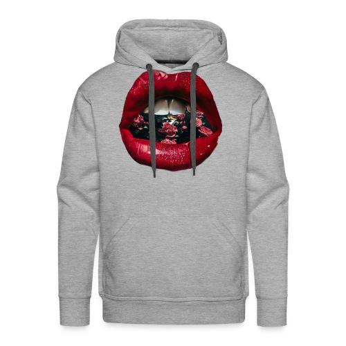 Lips N Roses - Men's Premium Hoodie