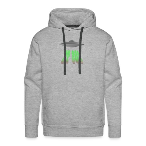 ET 808 'UFO Green' Logo - Men's Premium Hoodie