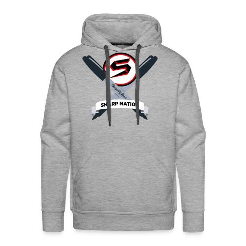 Sharp Nation Shirt - Men's Premium Hoodie