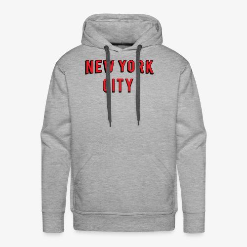 NEW YORK CITY Netflix T-shirt - Men's Premium Hoodie