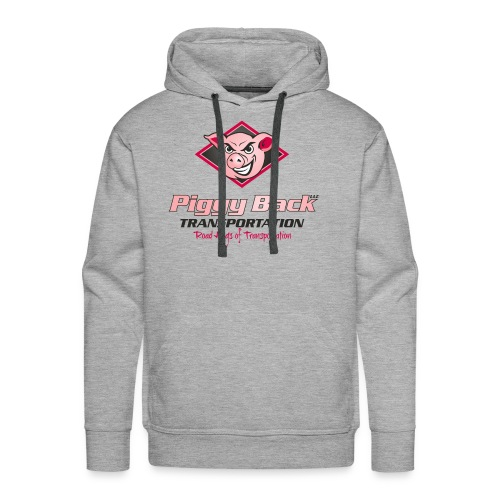 PiggyBack Transportation Logo - Men's Premium Hoodie