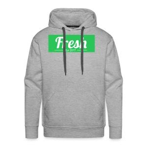 green logo - Men's Premium Hoodie