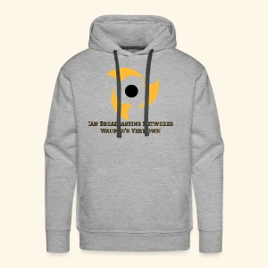 Official Grey Color Apparel Waupun's Very Own IBN - Men's Premium Hoodie
