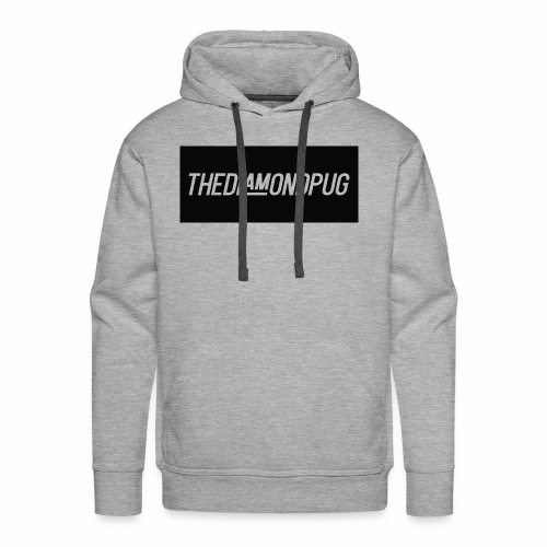 TheDiamondPug Rectangle - Men's Premium Hoodie