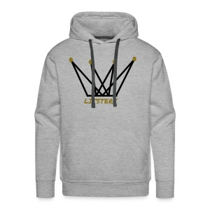 LITSTERS crown logo 1 - Men's Premium Hoodie