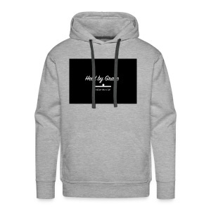 held by grace - Men's Premium Hoodie