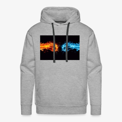 fight the battle - Men's Premium Hoodie