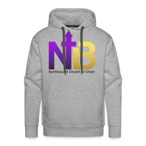 NB short logo png - Men's Premium Hoodie