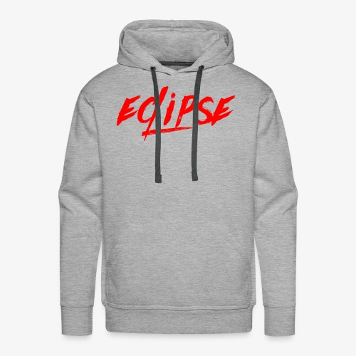 Red Plain Eclipse - Men's Premium Hoodie