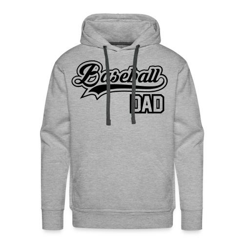 Baseball Dad - Men's Premium Hoodie