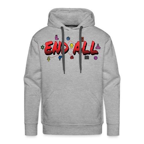 END ALL - Men's Premium Hoodie
