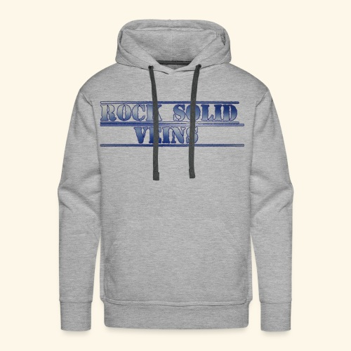 rock solid veins - Men's Premium Hoodie