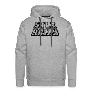 Stlz Army Logo (Black Edition) - Men's Premium Hoodie