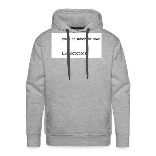 kaleb - Men's Premium Hoodie