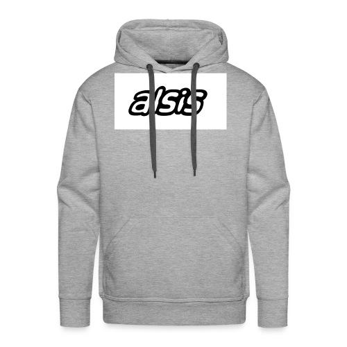 Alsis cool white - Men's Premium Hoodie