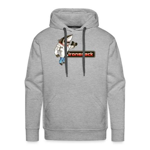 Ironsnack Full Shark Logo - Men's Premium Hoodie