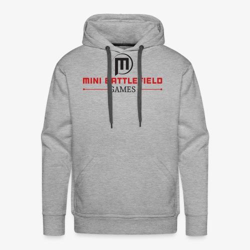 Mini Battlefield Games Logo - Men's Premium Hoodie