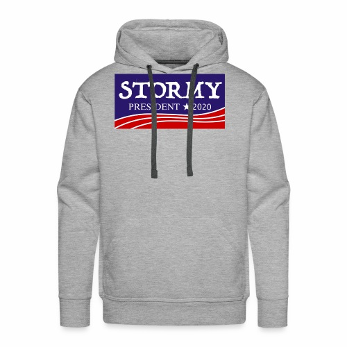 stormy for president 2020 - Men's Premium Hoodie