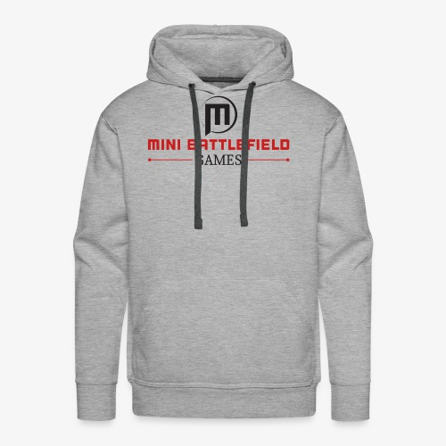Mini Battlefield Games Logo - Men's Premium Hoodie