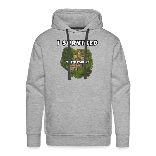 I SURVIVED TILTED TOWERS - Men's Premium Hoodie